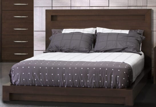 JLM Manhattan Queen Low-Profile Bed