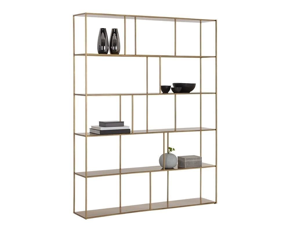 Eiffel Bookcase - Extra Large - Antique Brass