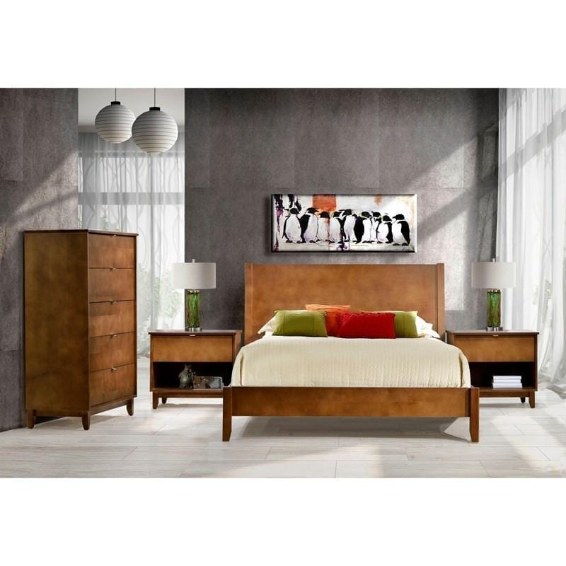 Halston AR-4400 Panel Queen Bed