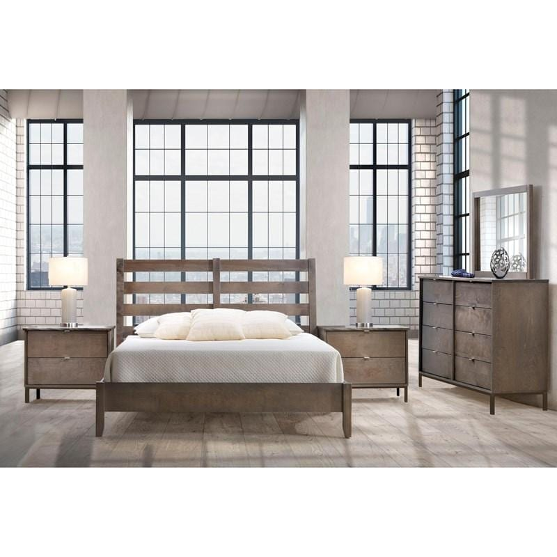Halston AR-4400 Slat King Bed