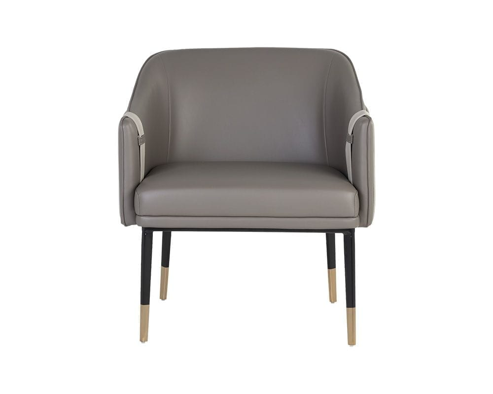 Carter Lounge Chair - Napa Taupe / Napa Stone