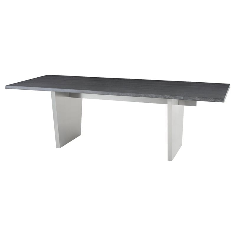 AIDEN DINING TABLE OXIDIZED GREY HGNA454