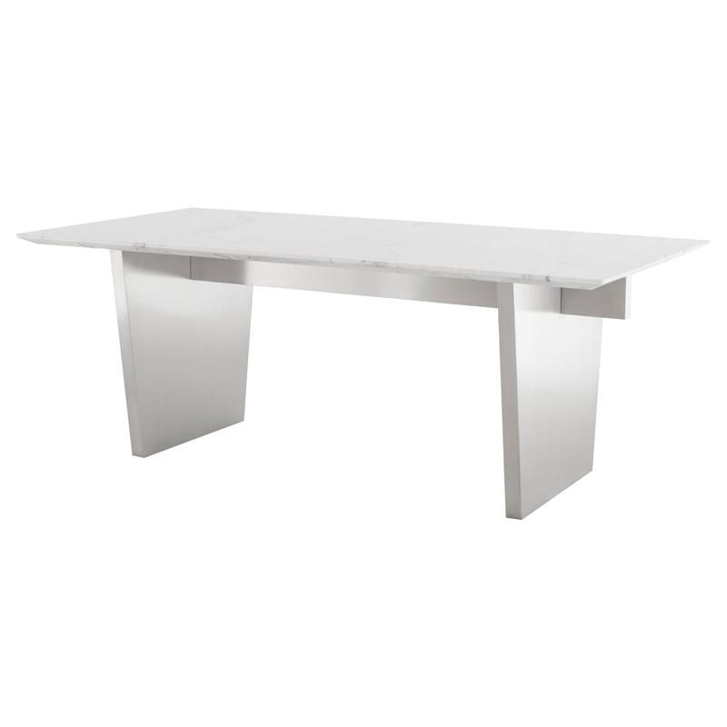 AIDEN DINING TABLE WHITE HGNA566