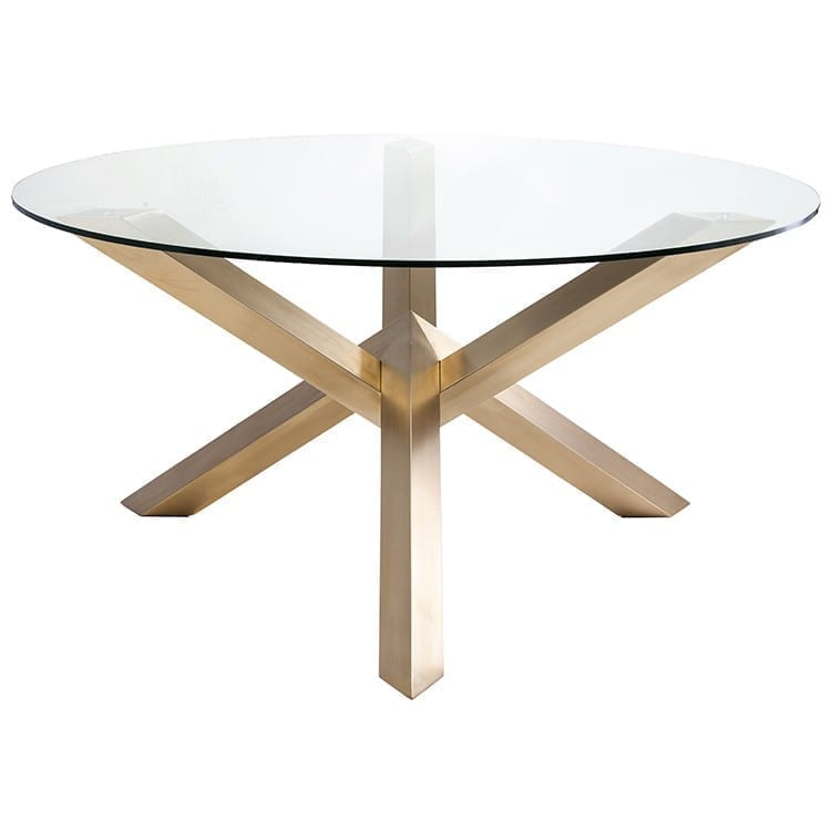 COSTA DINING TABLE GOLD HGTB383