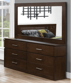 JLM Madison Double Dresser & Mirror Canadian made